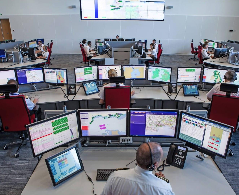 Coastguard control centre
