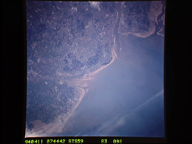 See the Fylde Coast from Space