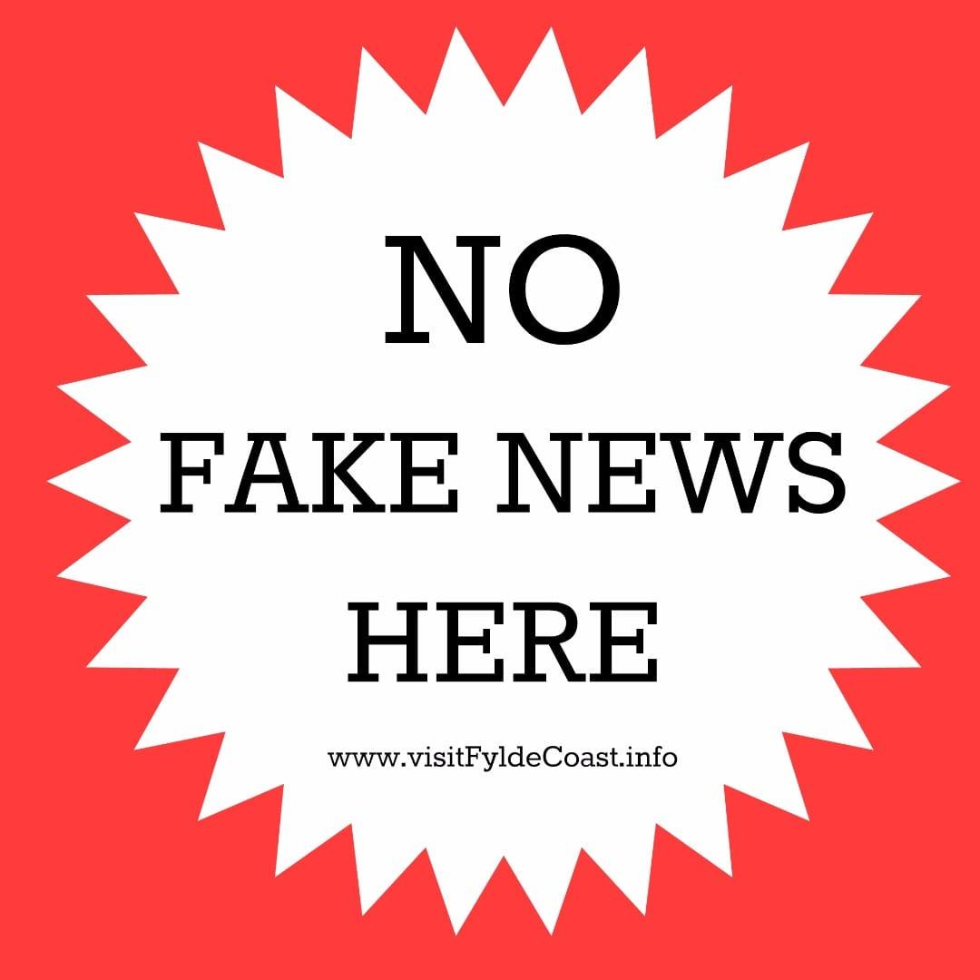 No Fake News at Visit Fylde Coast