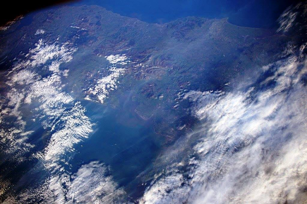 See the Fylde Coast from Space. Photo: Tim Peake ESA
