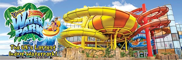 Sandcastle Waterpark - open weekends in December