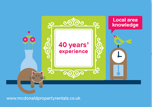 40 years of experience at McDonald Property Rentals