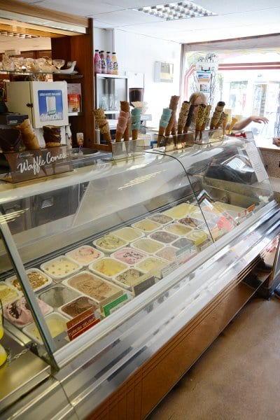 Home made ice cream at the New Penny of Poulton