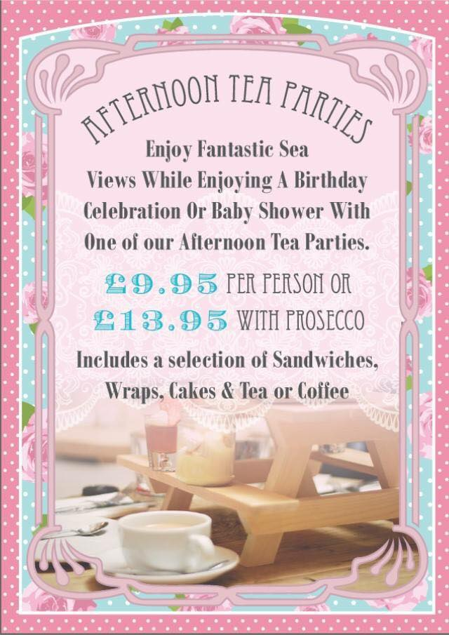 Afternoon tea parties at The Venue Cleveleys