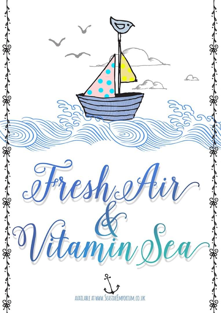Buy Fresh Air and Vitamin Sea from Seaside Emporium