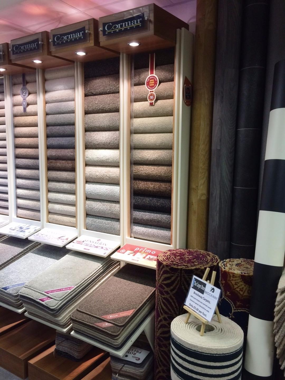 Range of choice at The Carpet Store Poulton