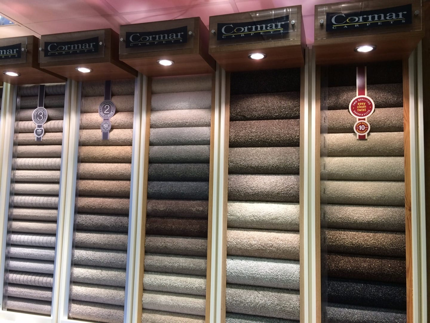 Sample service at the Carpet Store Poulton
