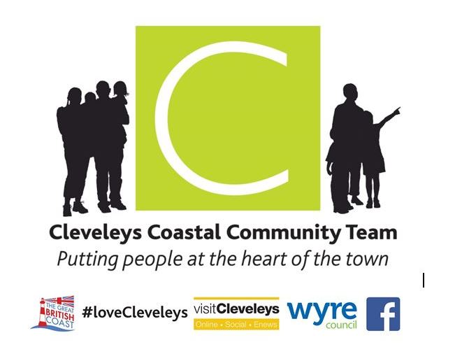 Cleveleys Town Centre Team Clean Up
