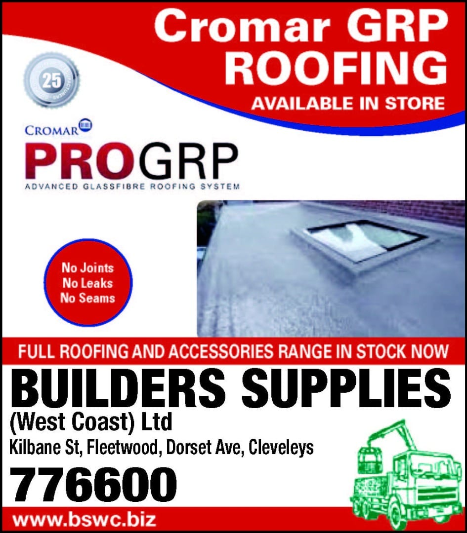 Cromar Advanced GRP Roofing from Builders Supplies
