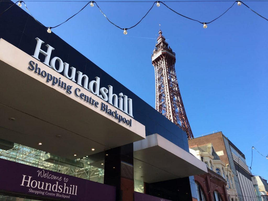 Houndshill Shopping Centre Blackpool
