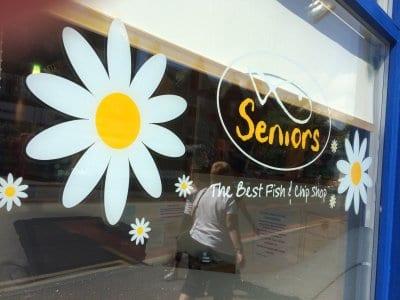 Seniors fish bar and grill at Lytham, Seniors Lytham and St Annes
