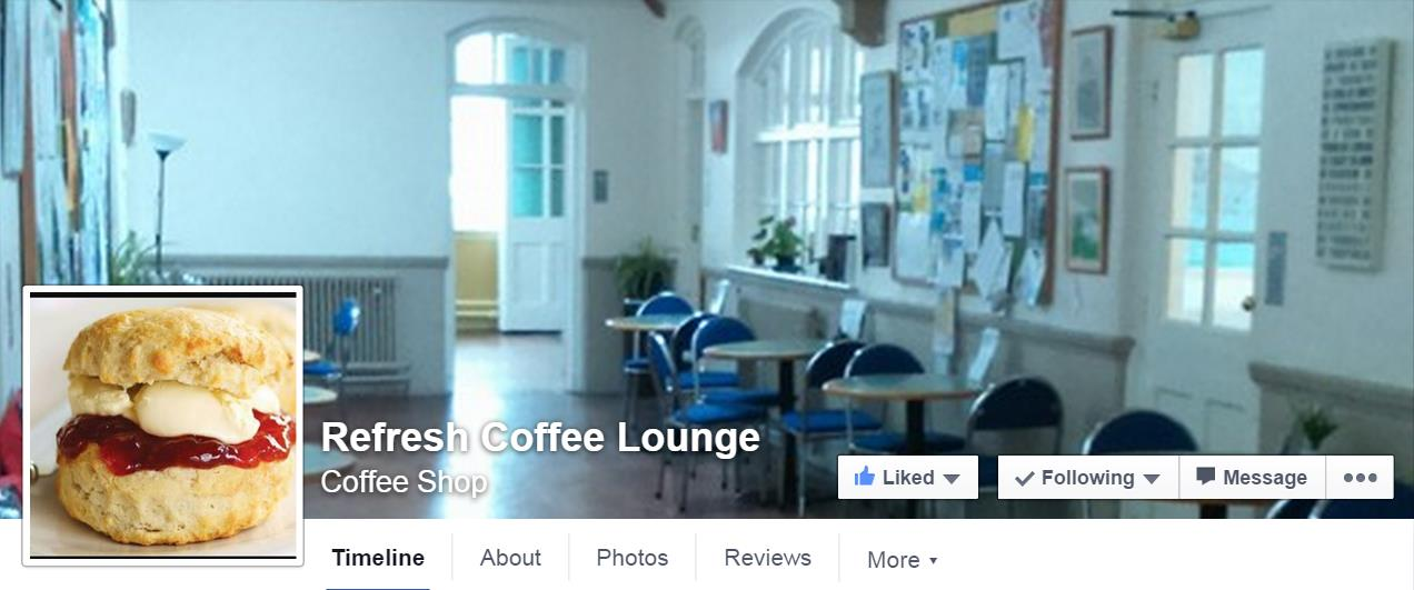 refresh Coffee Lounge at Cleveleys Community Centre