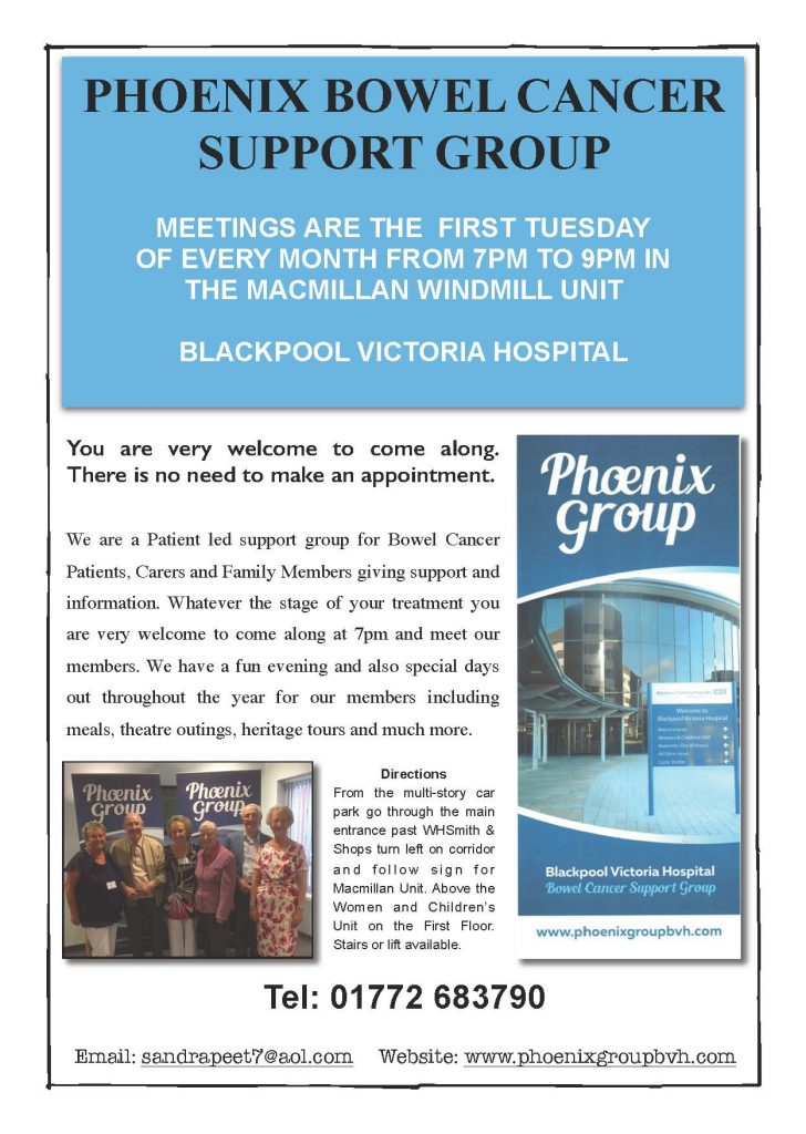 Phoenix Bowel Cancer Support Group