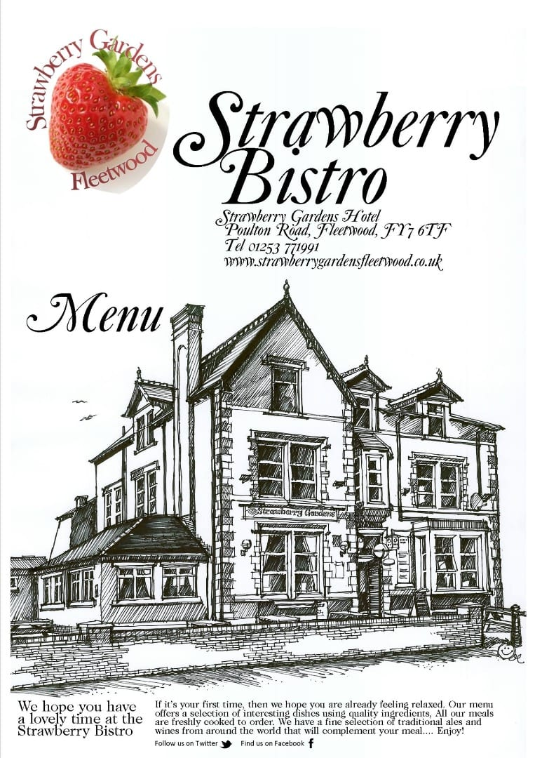 Strawberry Bistro at the Strawberry Gardens Hotel, Fleetwood
