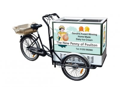New Penny Ice Cream Tricycle
