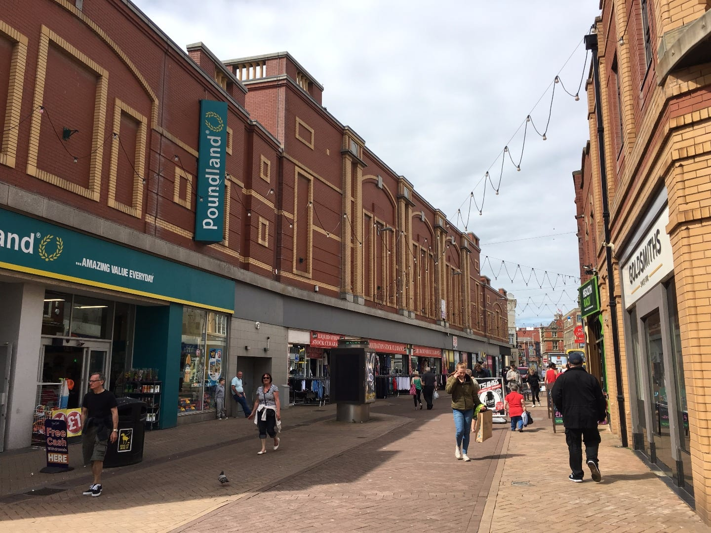 Bank Hey Street in Blackpool town centre