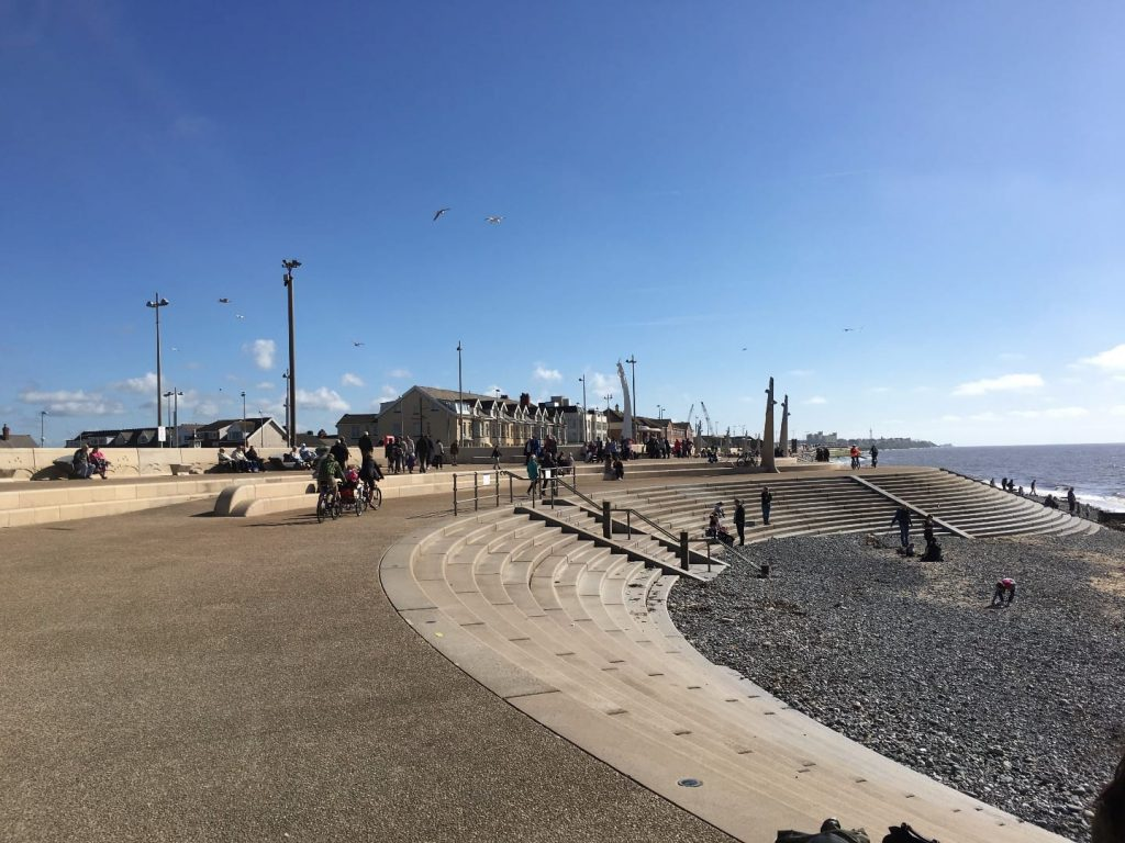 Cleveleys Promenade. One of the Fylde Coast town centres