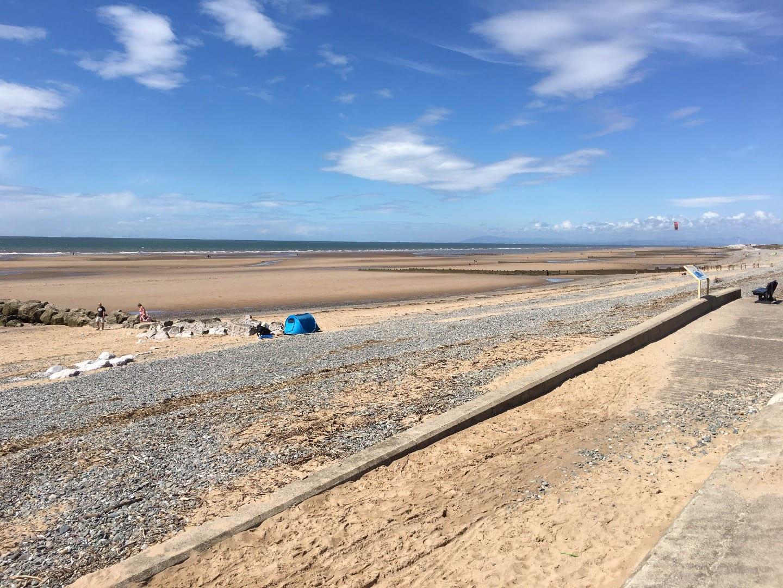 Rossall Beach Cleveleys Saturday 3 June