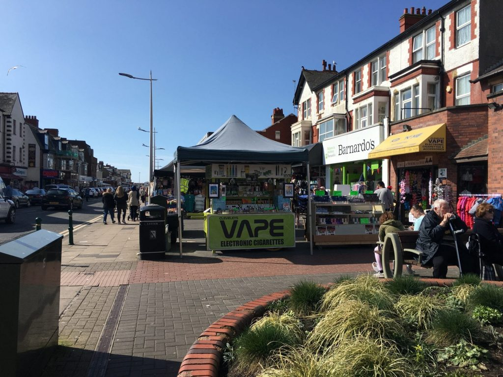 Cleveleys town centre