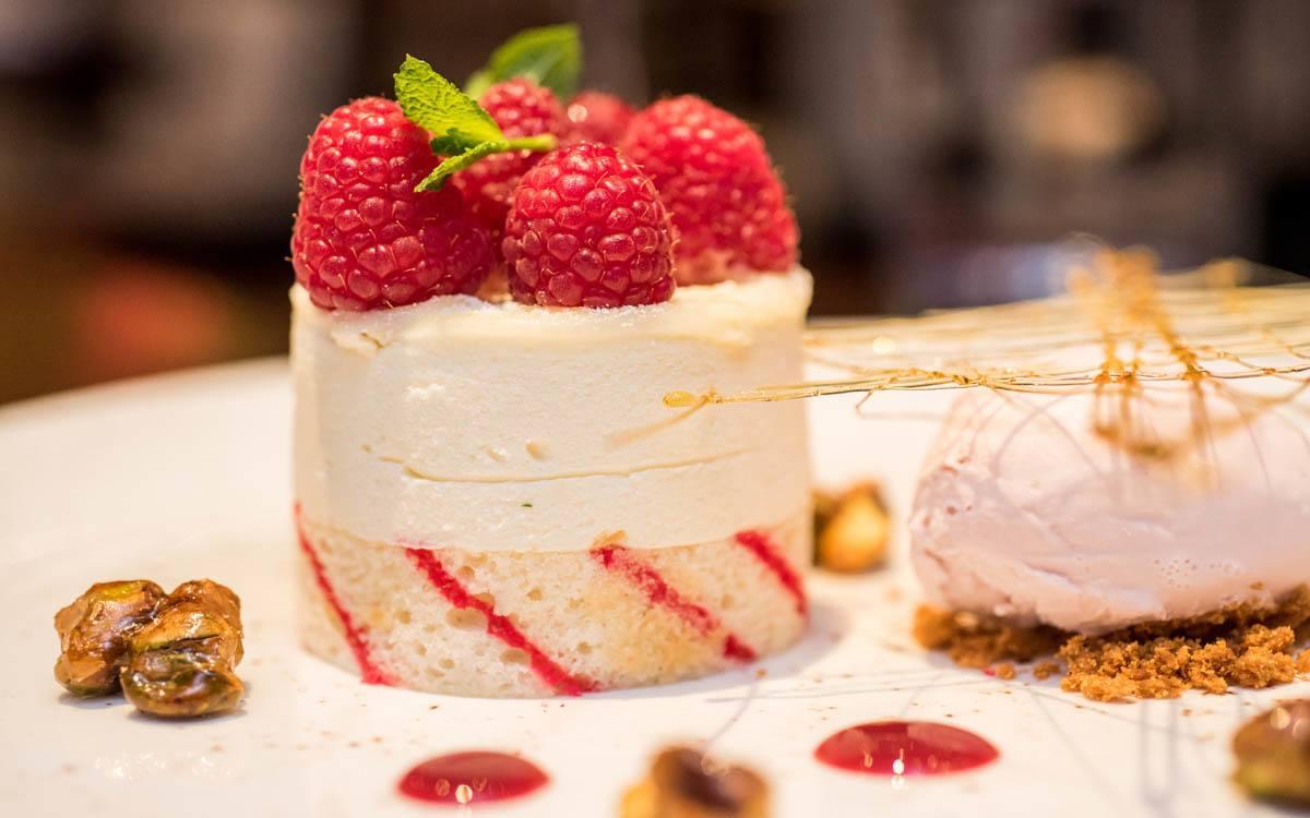 Desserts at the Briardene Hotel