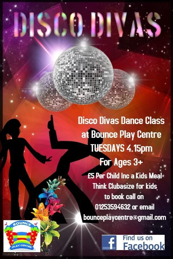 Disco Divas at Bounce Play Centre