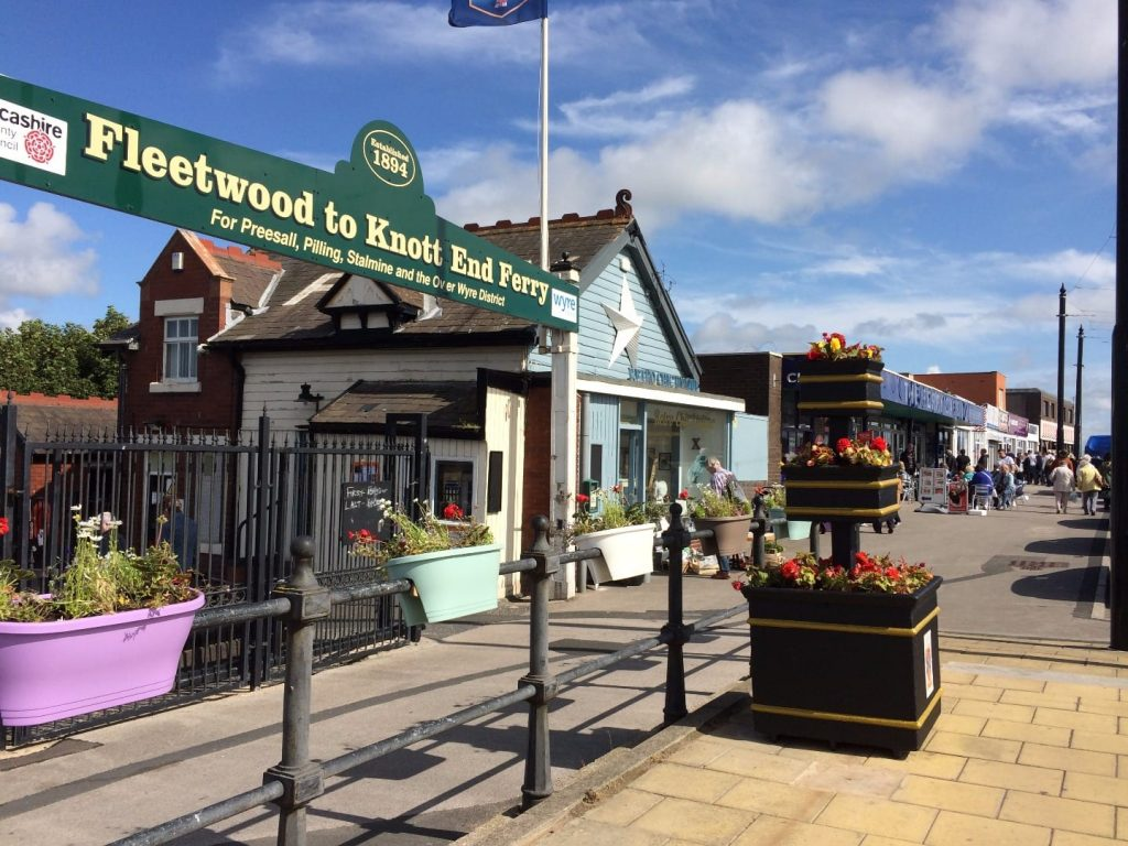 Lord Street, Fleetwood. One of the Fylde Coast town centres