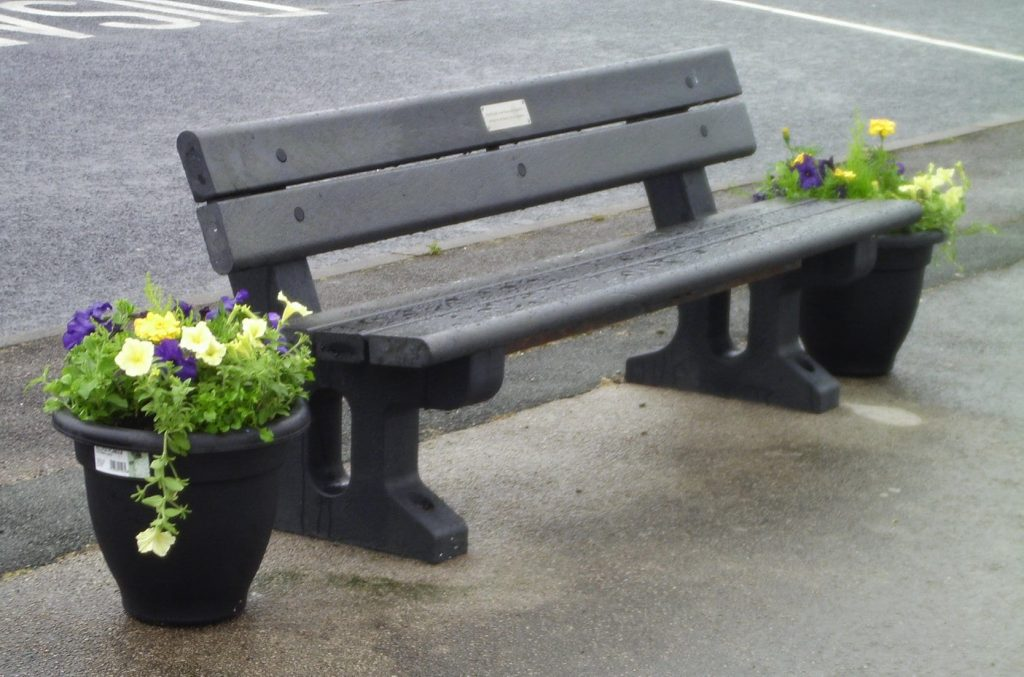 Planters for Fleetwood In Bloom, with Fleetwood Town Council