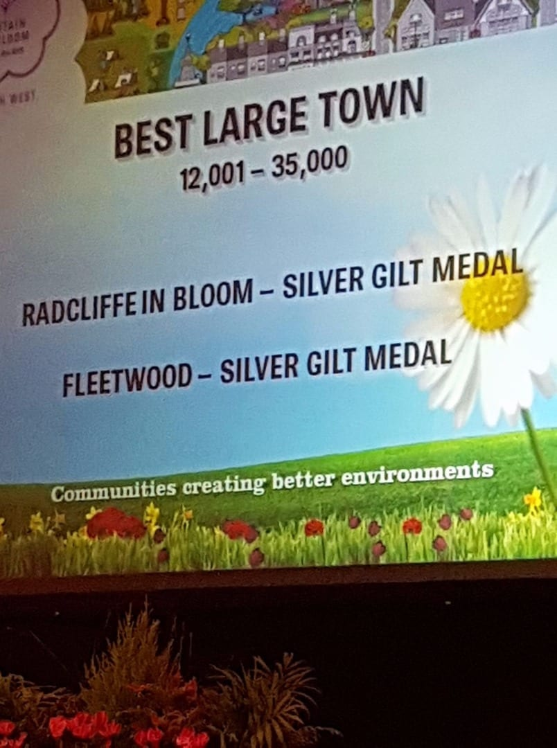 Fleetwood in Bloom Silver Gilt Award for 2017
