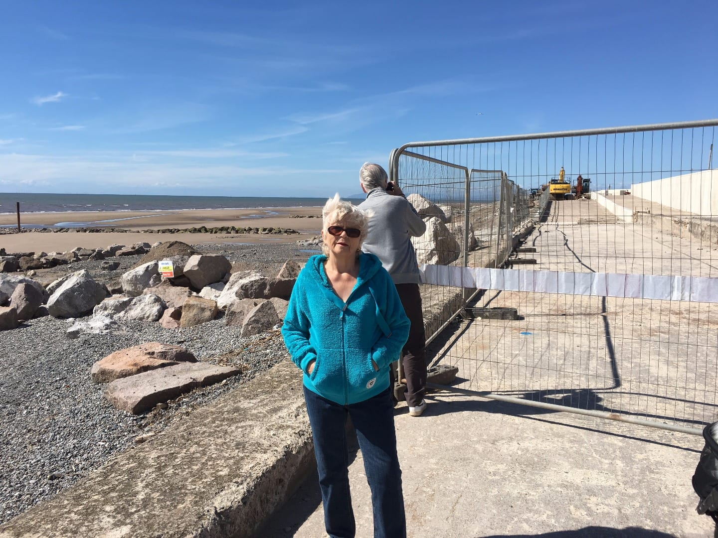 Rossall Sea Defences at Fairway