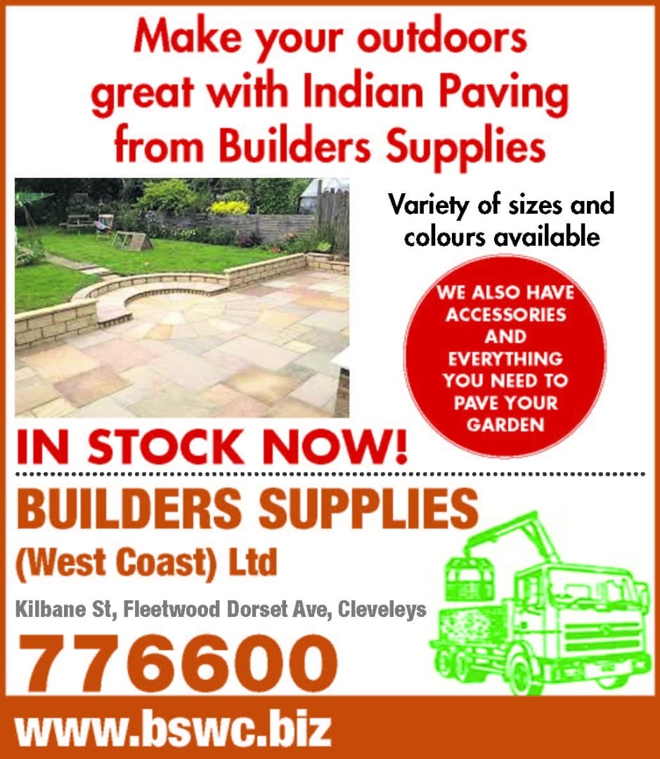Indian Paving from Builders Supplies