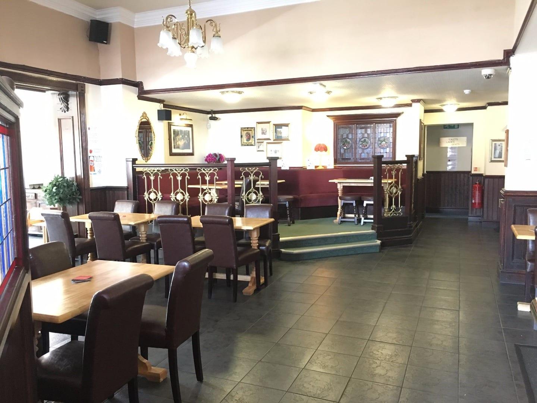 Inside the Strawberry Gardens Pub and Bistro