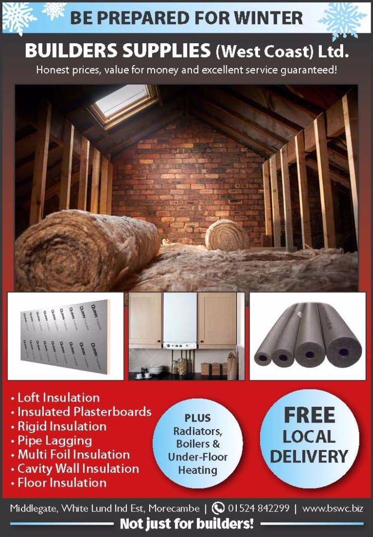 Home insulation from Builders Supplies