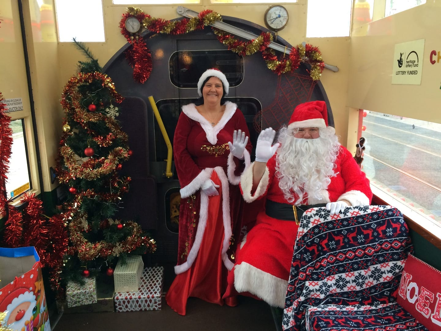Meet Santa on the Western Train Heritage Blackpool Tram