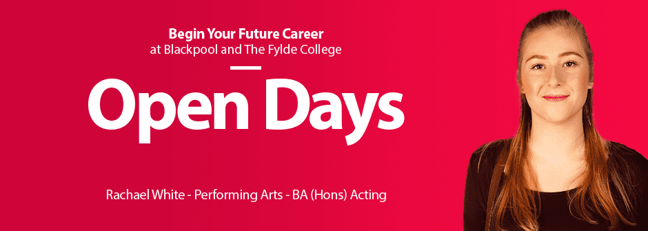 Open Days at Blackpool and the Fylde College
