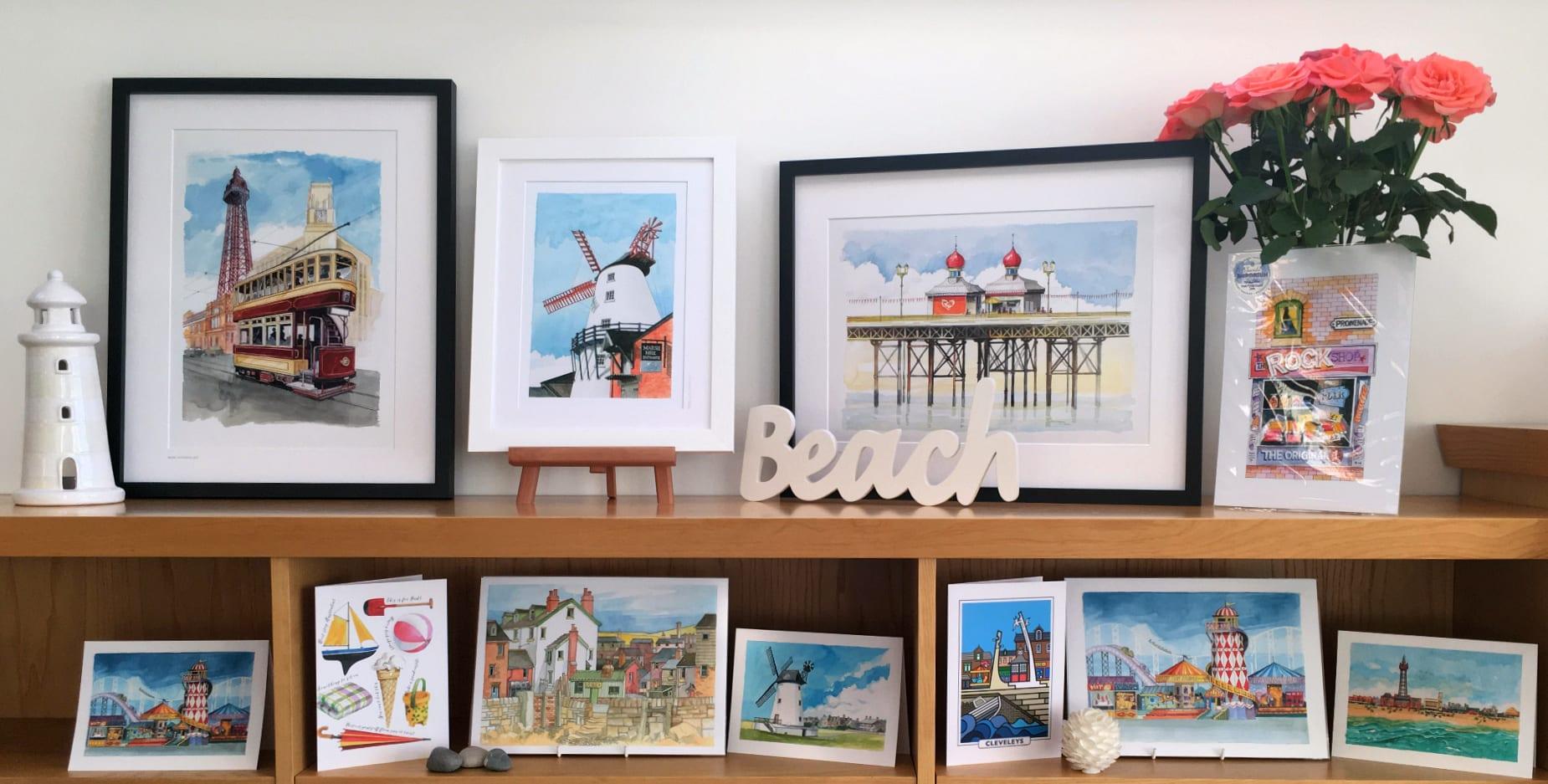 Paintings from Seaside Emporium