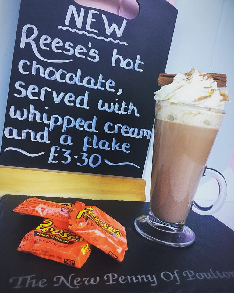 Reese hot chocolate