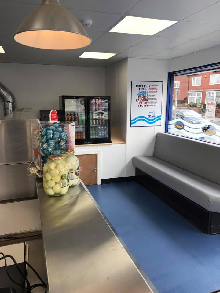 Seniors fish and chips now open, Seniors Lytham and St Annes