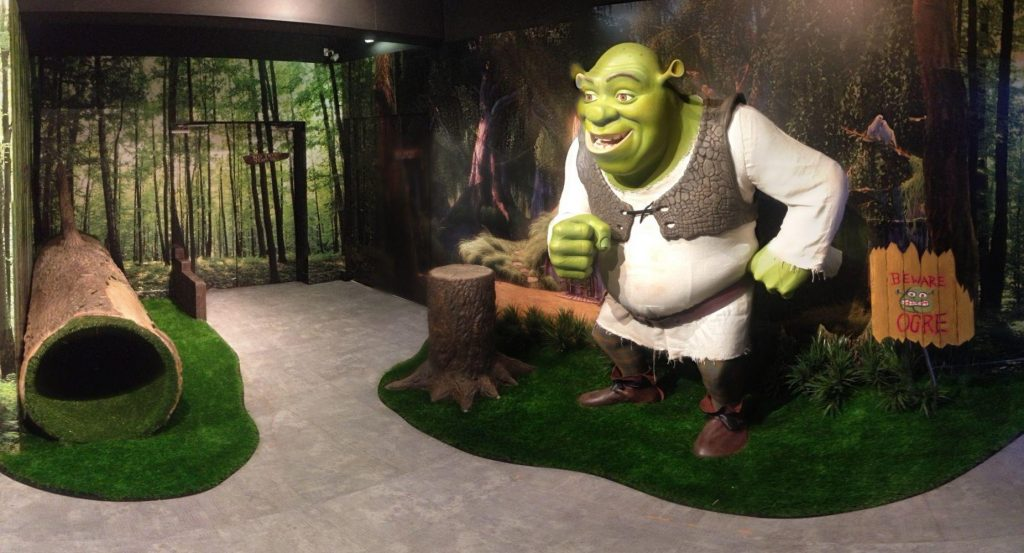 Meet Shrek at Madame Tussauds Blackpool