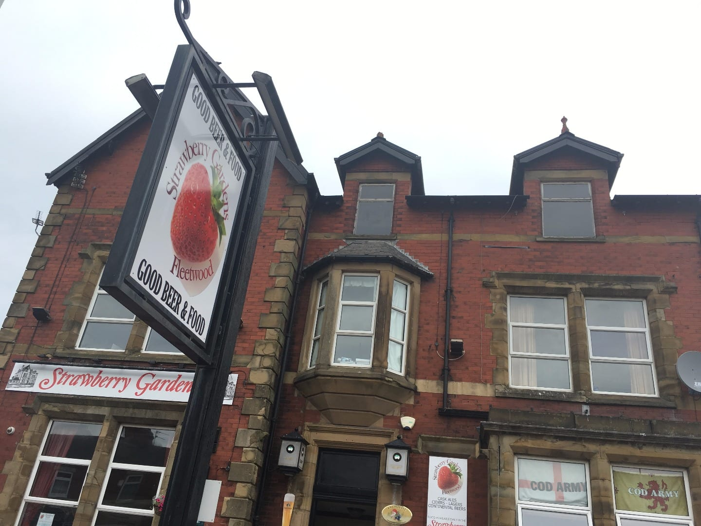 Strawberry Gardens pub and bistro, Fleetwood