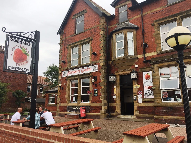 Strawberry Gardens Pub and Bistro Fleetwood