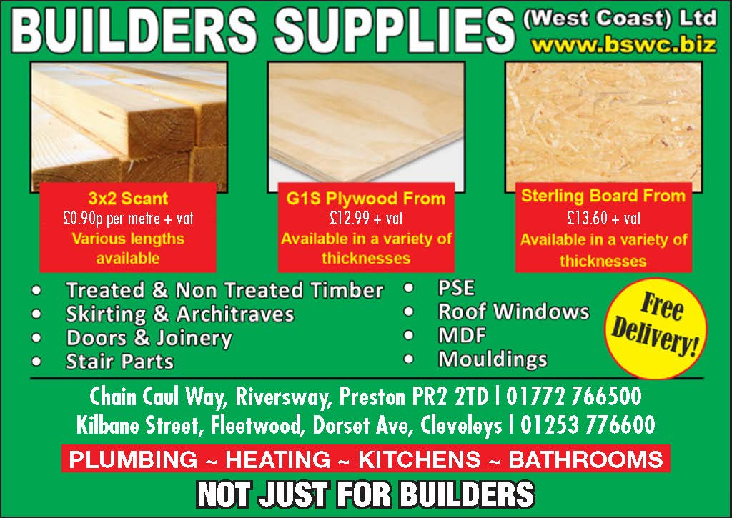 Wood and timber from Builders Supplies