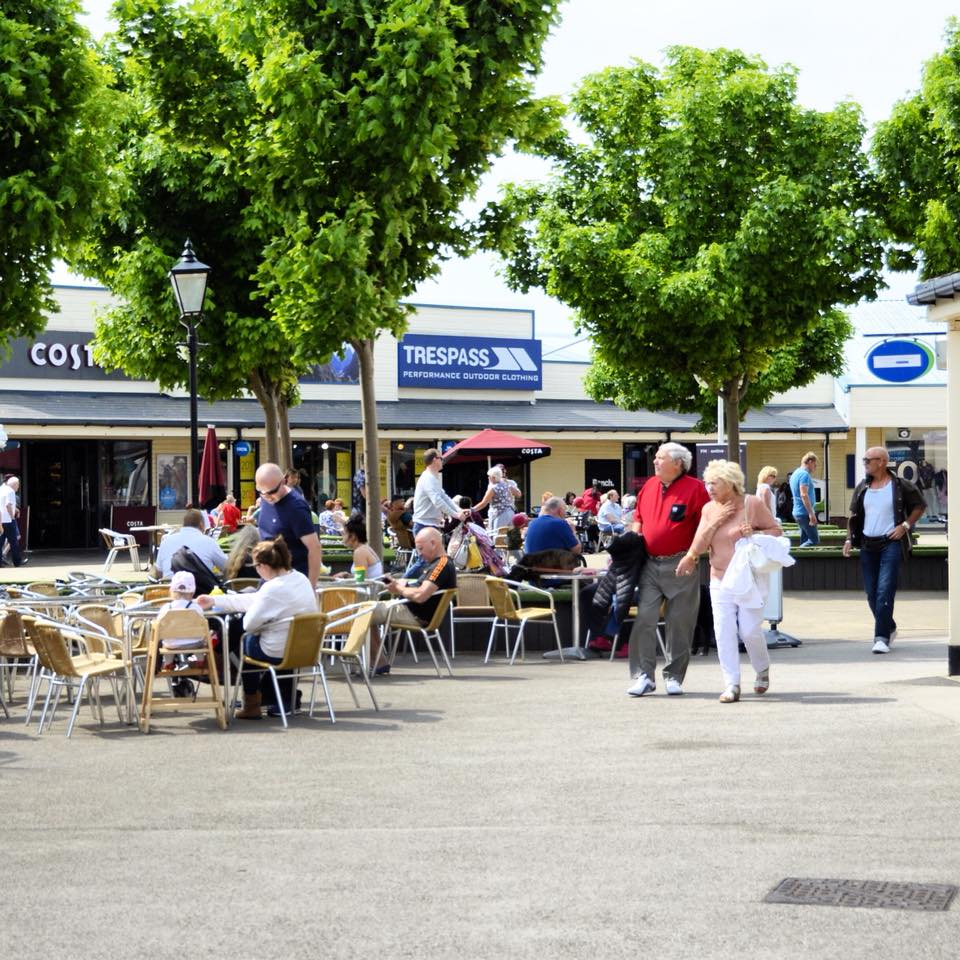 Outlet shopping at Affinity Lancashire - the new name for Freeport Fleetwood