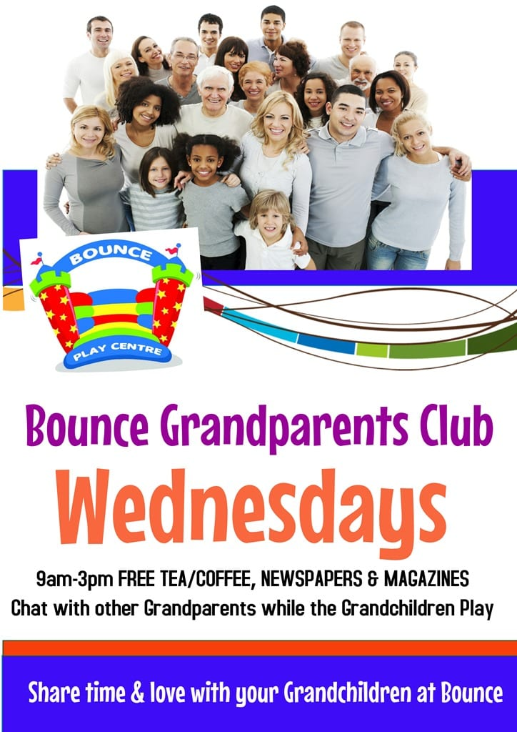 Grandparents Club at Bounce Play Centre