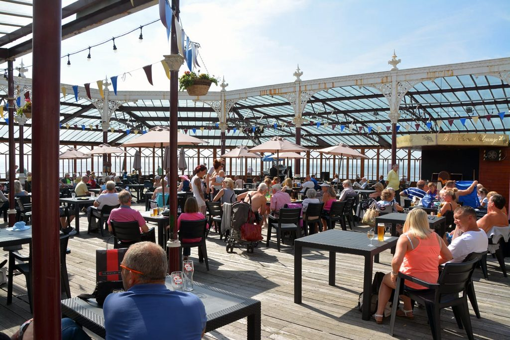 Sunset Lounge at the end of Blackpool North Pier