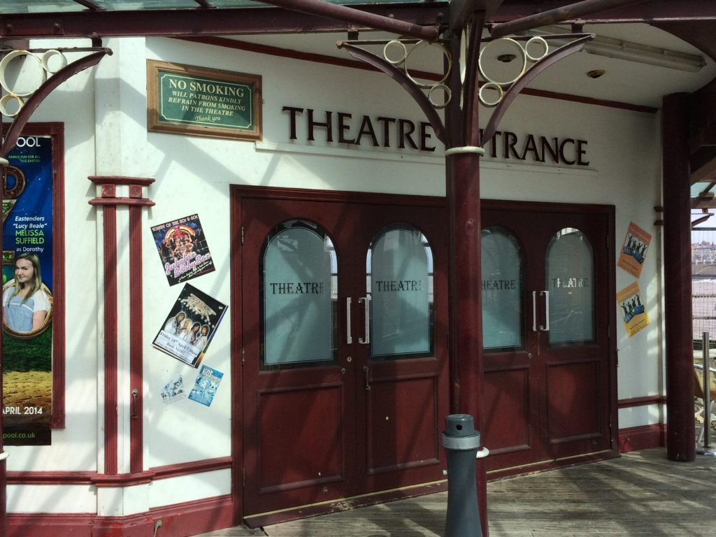 Blackpool North Pier Theatre entrance