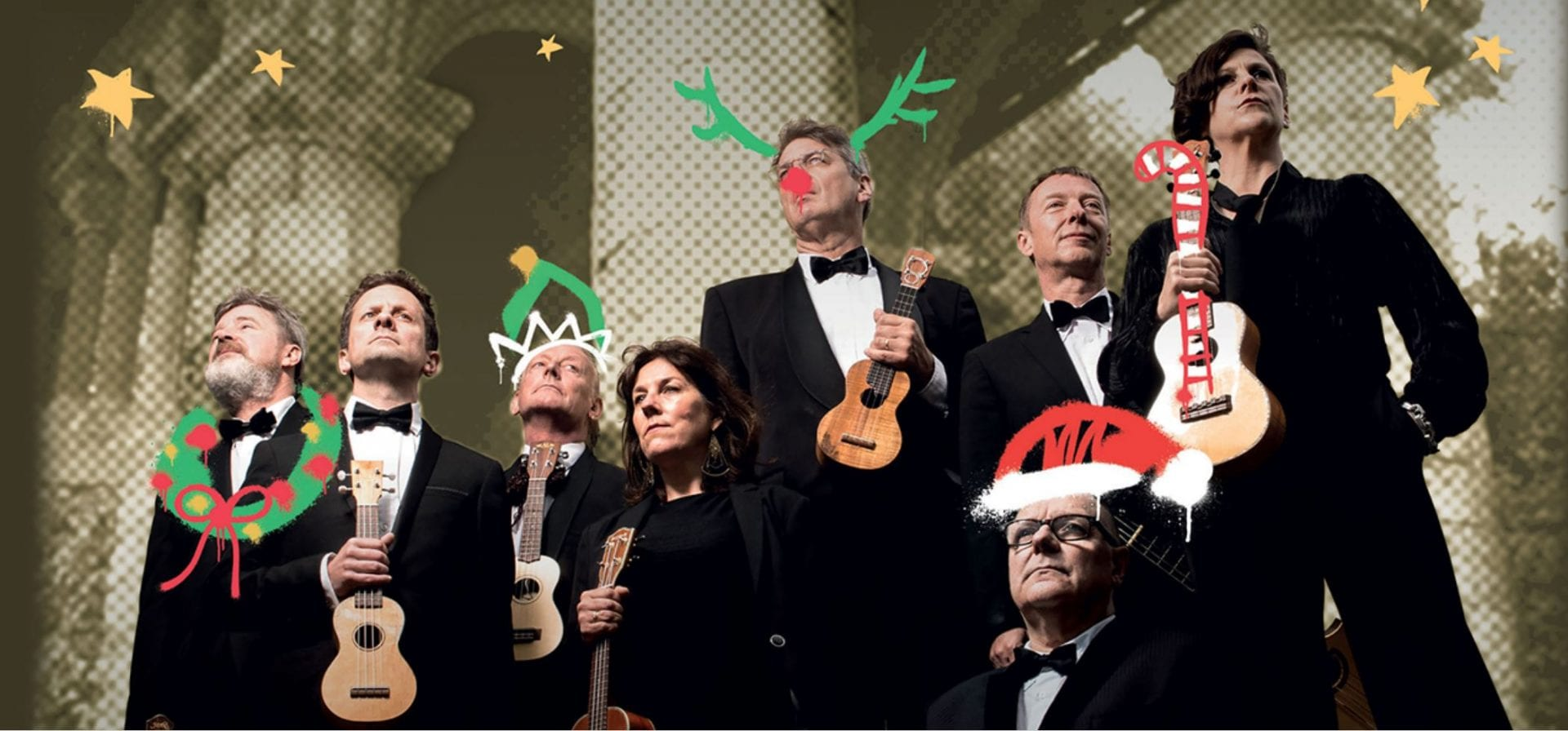 Ukulele Orchestra of Great Britain at Blackpool Grand Theatre