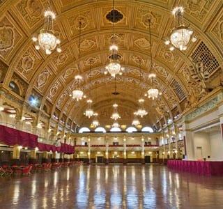 Empress Ballroom at Blackpool Winter Gardens
