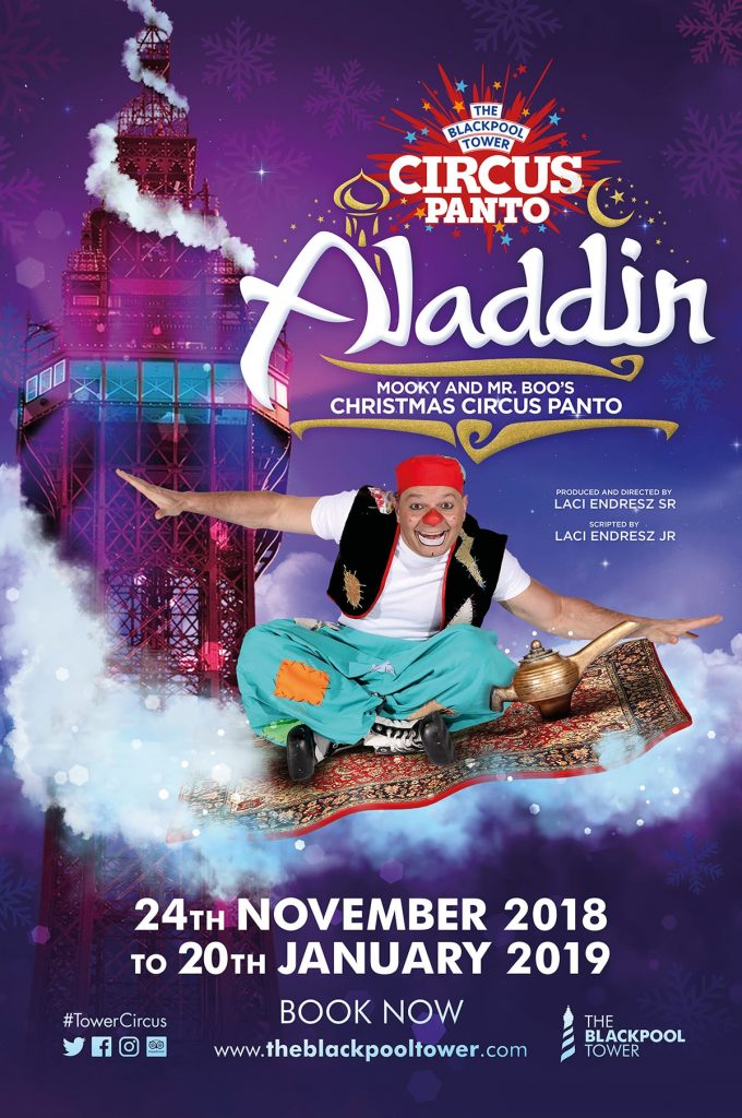 The Blackpool Tower Circus Panto - Aladdin