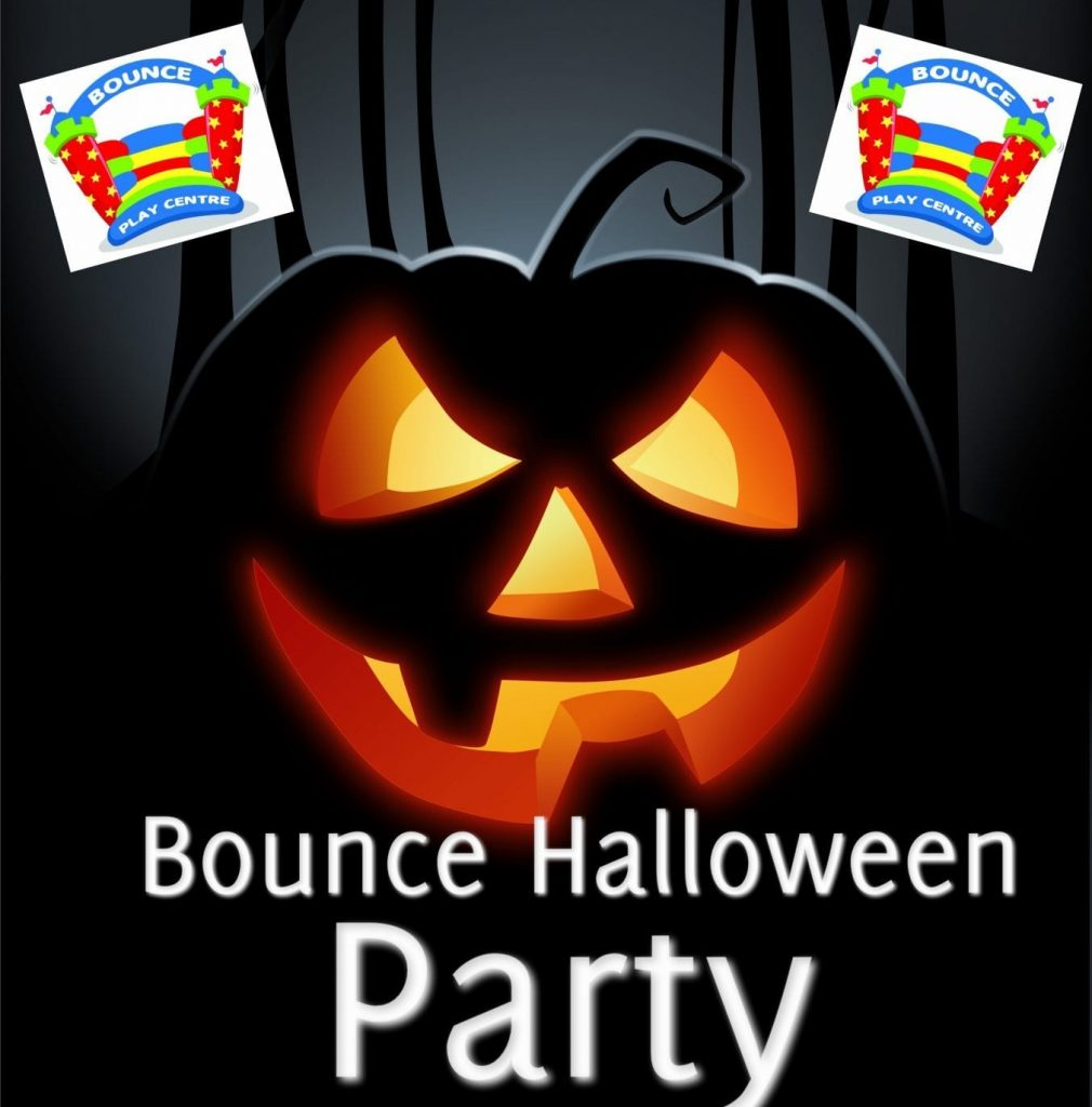 Halloween party at Bounce Play Centre