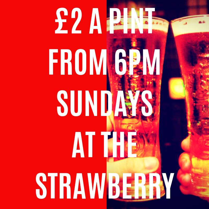 Happy Hour at the Strawberry Gardens Fleetwood